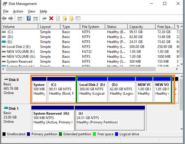 virtual disk service error