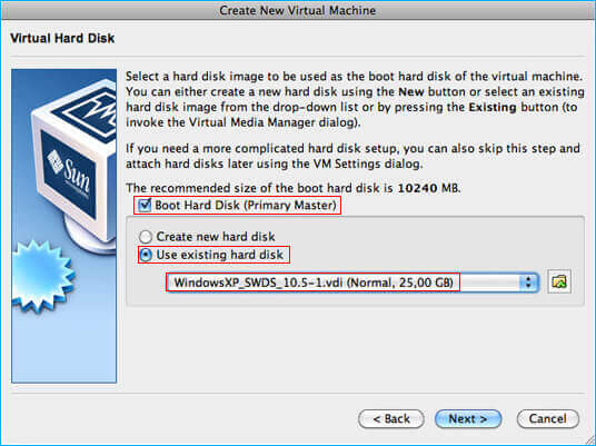 How to open vdi file