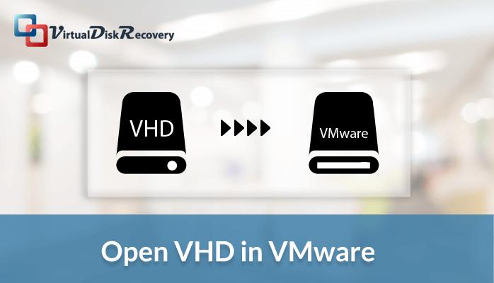 VHD file in vmware