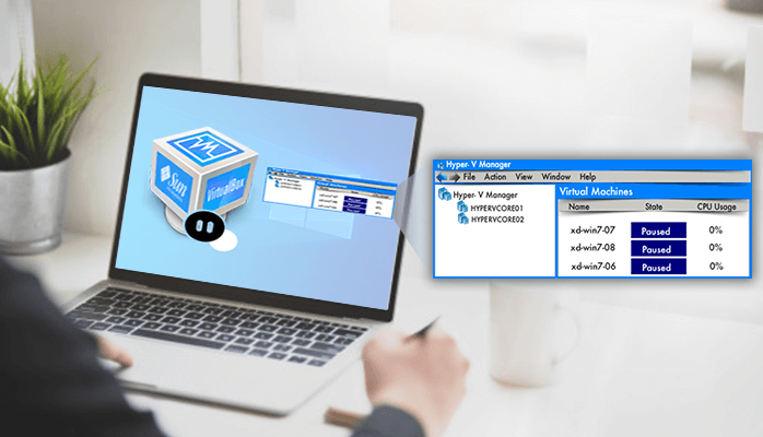 Troubleshooting Paused State of Virtual Machine