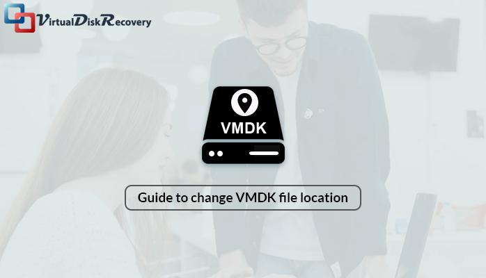 VMware change VMDK file location